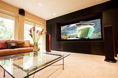 Lovely home cinema room