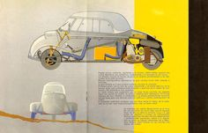 СОБАКА НЕ ПЁС - Messerschmitt Kabinenroller KR 200 1952-1955