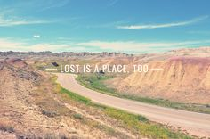 Lost is a place too.