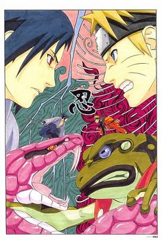 Official art by Kishimoto Masashi.