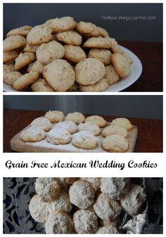 Grain Free Mexican Wedding Cookies