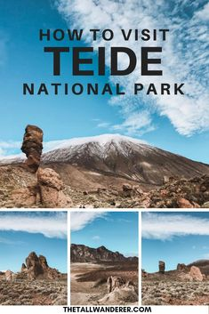 How to visit Teide National Park in Tenerife. The National Park has some amazing scenery and the volcano peak is the highest point in Spain! It's well worth a visit. Spain Travel Guide, Europe Travel Tips, Travel Usa, Places To Travel, Travel Destinations, Places To Visit, Holiday Destinations, Portugal Travel, Spain And Portugal