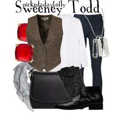 """Sweeney Todd"" by pickedadaytofly on Polyvore"