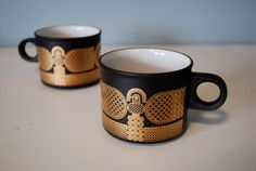 Hornsea Pottery Midas Mugs