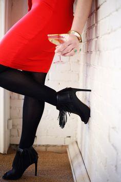 STYLE // alternatives to the little black dress + Shoe Carnival // jojotastic.com @shoecarnival #shoecarnival