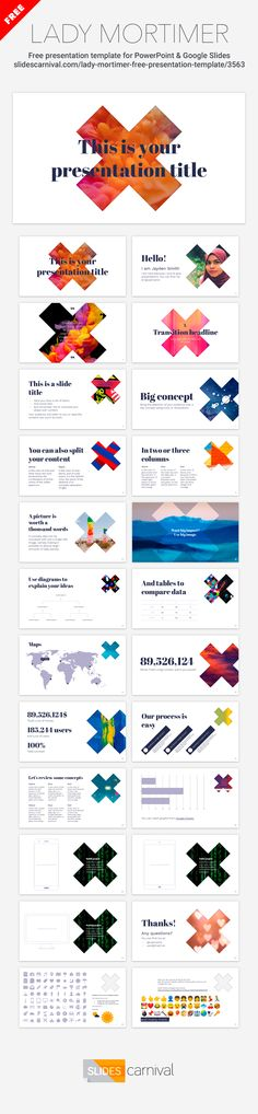Las 108 mejores imágenes de Free presentation templates en