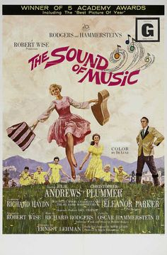 CAST: Julie Andrews, Christopher Plummer, Eleanor Parker, Peggy Wood, Charmian Carr, Heather Menzies, Marni Nixon, Richard Haydn, Anna Lee, Norma Varden, Nicholas Hammond, Angela Cartwright, Portia Ne