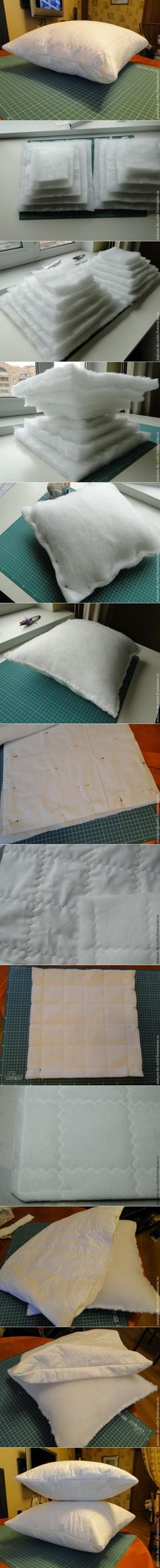 How to DIY Plump Cushion Insert | www.FabArtDIY.com LIKE Us on Facebook ==>…