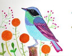 Bird art - Elina Lorenz