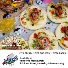 Craving for some? Pita Pockets, Pita Bread, Deli, Cravings, Tacos, Pizza, Homemade, Baking, Ethnic Recipes