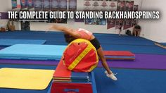 22 drills to help you master the standing back handspring in the fastest and most efficient manner without mental blocks! 22 drills to help you master the standing back handspring in the fastest and most efficient manner without mental blocks! Types Of Gymnastics, Gymnastics Levels, Gymnastics Lessons, Preschool Gymnastics, Boys Gymnastics, Gymnastics Floor, Tumbling Gymnastics, Gymnastics Flexibility, Gymnastics Quotes