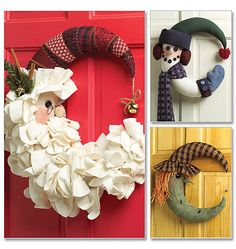 "Santa's wreath - ""ghirlanda"" Babbo Natale, fantastica"