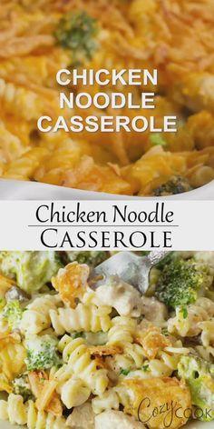Broccoli Cheese Casserole Easy, Chicken Pasta Casserole, Leftover Chicken Casserole, Casserole Recipes, Chicken Noodle Bake, Chicken Rice, Broccoli Recipes, Broccoli Bake, Grilled Chicken Leftover Recipes