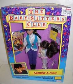 and it even has an Ames price sticker! I think I may just cry now.Claudia was my favorite of the bunch. Les Baby-sitters, Babysitters Club Books, Best 90s Cartoons, The Baby Sitters Club, Cry Now, African American Dolls, Kids Tv Shows, Price Sticker, 90s Kids