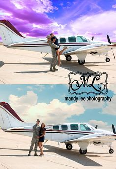 On location Military Homecoming  photography session with a plane. https://www.facebook.com/pages/Mandy-Lee-Photography/113937515377935?ref_type=bookmark
