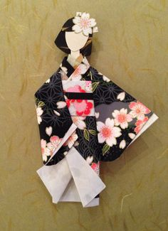 Japanese Paper Doll, for 1500 free paper dolls, go to my website Arielle Gabriel's The International Paper Doll Society...