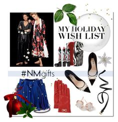 """The Holiday Wish List With Neiman Marcus: Contest Entry"" by hellodollface ❤ liked on Polyvore featuring мода, Salvatore Ferragamo, Miu Miu, STELLA McCARTNEY, Ippolita, Oscar de la Renta, Sisley Paris, Neiman Marcus, H&M и NMgifts"