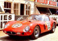 ferrari 250 gto le-mans 1965 | Le Mans 1962 - # 3757 GT (Moity-Teissedre-Bienvenu,24 heures du Mans ...