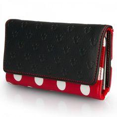 #Minnie Mouse Polka Dot Wallet