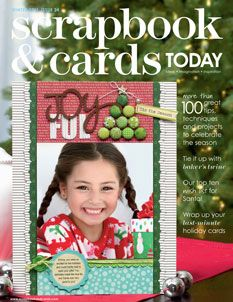 This is an beautiful and amazing Canadian scrapbooking magazine. The subscription price for US residents just went down!