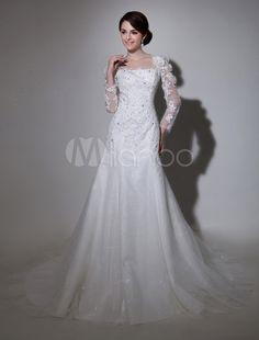 #Milanoo.com Ltd          #Wedding Dresses          #Glamour #Ivory #A-line #Keyhole #Neck #Beading #Tulle #Wedding #Dress #Bride                           Glamour Ivory A-line Keyhole Neck Beading Tulle Wedding Dress For Bride                                 http://www.snaproduct.com/product.aspx?PID=5733277