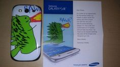 Samsung sends Canadian a free one-of-a-kind Galaxy S III Dragon Edition smartphone