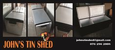 Fridge to Cooler Box conversion Tin Shed, Cooler Box, How To Remove Rust, Plasma Cutting, Repurposed, Restoration, Great Gifts, Cool Stuff, Products