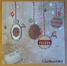 Craftwork cards: Christmas Post