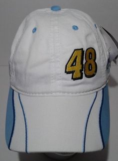 Jimmie Johnson NASCAR Adjustable Hat Number 48 Nextel Champion 2006 Racing NWT #HaseAuthentics #BaseballCap