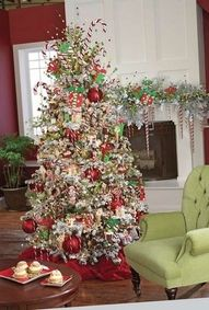 Christmas scoops tree