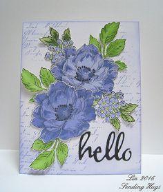 In a lavender blue kind of mood today.....@altenewllc  #altenew #lavender #blue #beautifulday #linktomybloginmyprofile