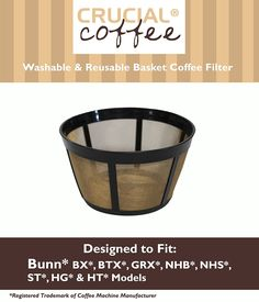 Bunn Replacement Washable Basket Coffee Filter Fits Models:BX ** See this great product.