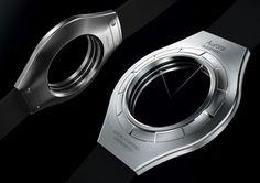 Aurora faceless laser watch