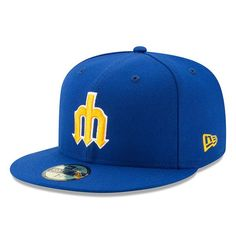 a912742d747bd Men s Seattle Mariners New Era Royal 1977 Turn Back The Clock 59FIFTY  Fitted Hat