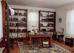 Martin Luther King's study, Dexter Parsonage Museum, Montgomery, Alabama