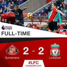 PL Sunderland vs Liverpool