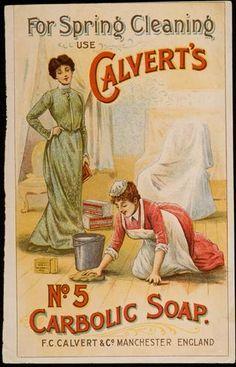 Calvert's No5 Carbolic Soap Ad