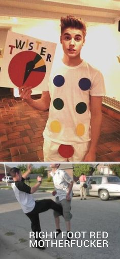 funny pictures of the day (64 pics) Justin Bieber Twister Game
