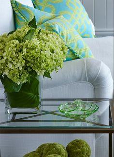 turquoise & lime   Marianne Jones