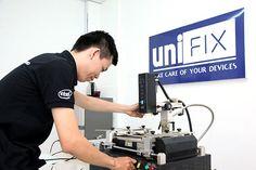 Dịch vụ vệ sinh Laptop + Kiểm tra phần cứng, phần mềm + Cài đặt Windows tại Unifix.vn