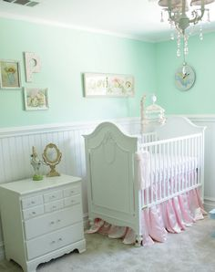 Mint Green Baby Nurseries Fit For A Royal Page 2 Nursery