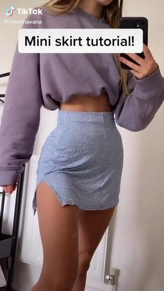 Sewing Clothes, Custom Clothes, Clothes Crafts, Diy Clothes Videos, Diy Fashion Hacks, Fashion Outfits, Diy Clothes Design, How To Make Clothes, Revamp Clothes