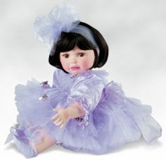 Collectible Doll By Marie Osmond, Paradise Rose, 20-inch Porcelain Doll