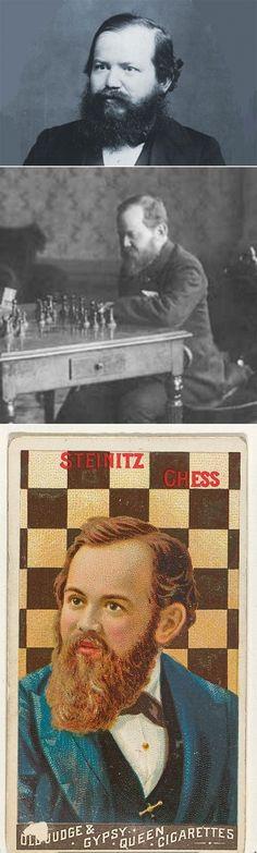 Wilhelm Steinitz. World chess champion (1886–1894).