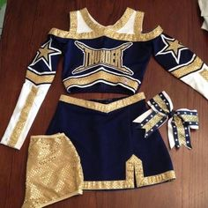 In the course of your initial steps of cheerleading the game was only in which Cheer Costumes, Dance Costumes, Halloween Costumes, Cheerdance Costume, Cheer Outfits, Dance Outfits, Sport Outfits, Mode Outfits, Girl Outfits