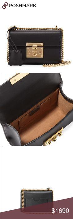 357061d965b0 NWT Gucci Small Padlock Shoulder Bag