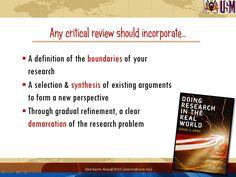 Critical analysis literature dissertation