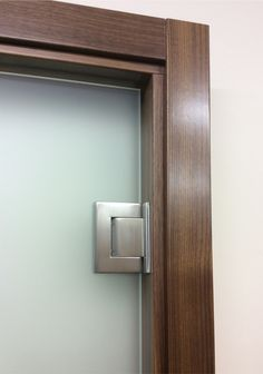 Frameless glass doors opening both ways | Glaswerk & Frosted-sandblasted-obscure-glass-doors-in-derry-Custom-made-office ...