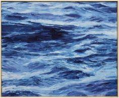 """""""Deep Currents"""" by John Bucklin, $2400, 36"""" x 30,"""" available at Serena  Lily. #serenaandlily"""