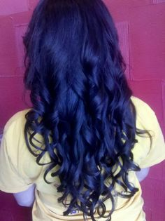 Long curls done by one of our stylists, Jafra